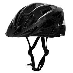 Goldcross Defender Bike Helmet Black / White M, , rebel_hi-res