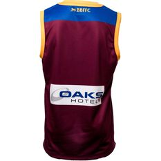 Brisbane Lions 2019 Men's Replica Home Guernsey Maroon / Navy / Gold S, Maroon / Navy / Gold, rebel_hi-res