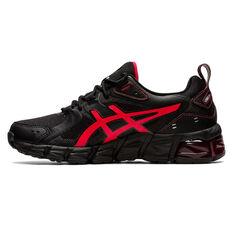 Asics GEL Quantum 180 Kids Casual Shoes Black/Red US 4, Black/Red, rebel_hi-res