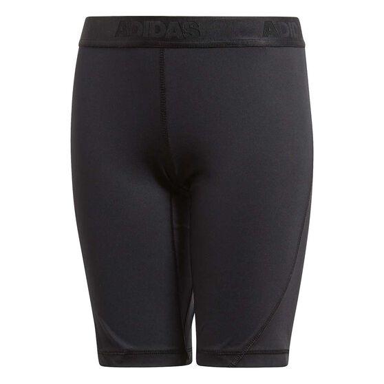 adidas Boys Alphaskin Short Tights, Black, rebel_hi-res