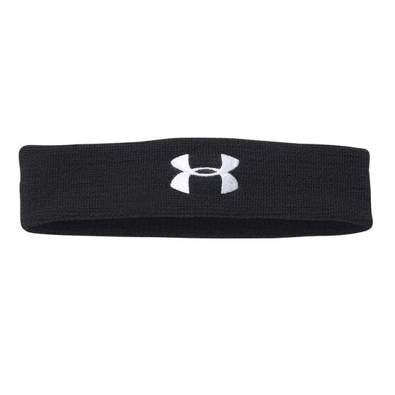 Under Armour Performance Headband Black, , rebel_hi-res