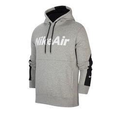 Nike Air Mens Fleece Hoodie Grey XS, Grey, rebel_hi-res