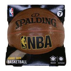 Spalding NBA Snake Skin Basketball Brown Brown 7, Brown, rebel_hi-res