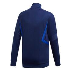 adidas Boys Tiro 19 Training Jacket Blue / White 8, Blue / White, rebel_hi-res