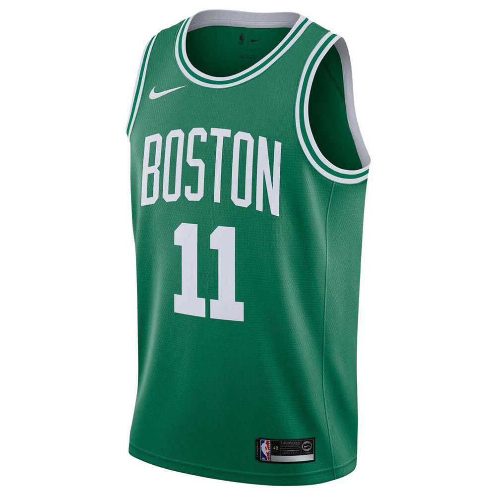 Nike Boston Celtics Kyrie Irving 2018 Mens Swingman Jersey Clover S ... d591b34705
