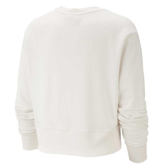 Nike Womens Sportswear Fleece Sweatshirt, Ivory, rebel_hi-res