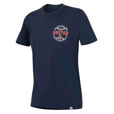 Boston Red Sox Mens Kardy Tee Navy S, Navy, rebel_hi-res