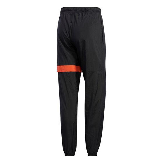 adidas Mens New Authentic Track Pants, Black, rebel_hi-res
