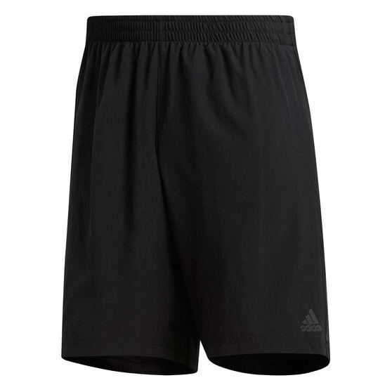 adidas Mens Own the Run 2in1 Running Shorts, Black, rebel_hi-res