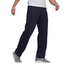 adidas Mens Volume Fleece Track Pants Navy XS, Navy, rebel_hi-res