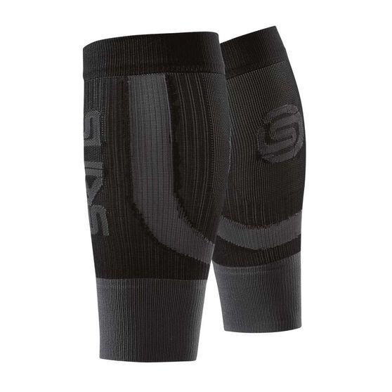Skins Unisex Seamless Calf Tights Black / Grey XS Adult, Black / Grey, rebel_hi-res