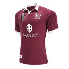 QLD Maroons State of Origin 2020 Mens Home Jersey Maroon S, Maroon, rebel_hi-res