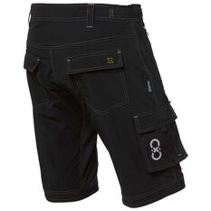 Goldcross Mens Shy Shorts Black S, Black, rebel_hi-res