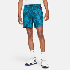 NikeCourt Mens Dri-FIT Tennis Shorts Green XS, Green, rebel_hi-res