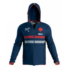 Sydney Roosters 2020 Mens Team Hoodie Navy S, Navy, rebel_hi-res