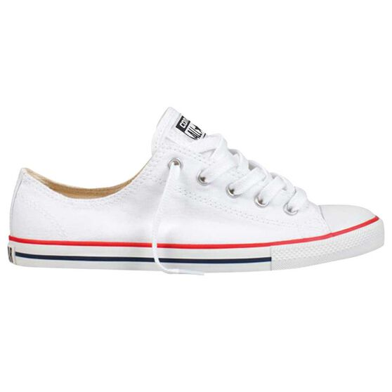 Converse Dainty Low Womens Casual Shoes, White, rebel_hi-res
