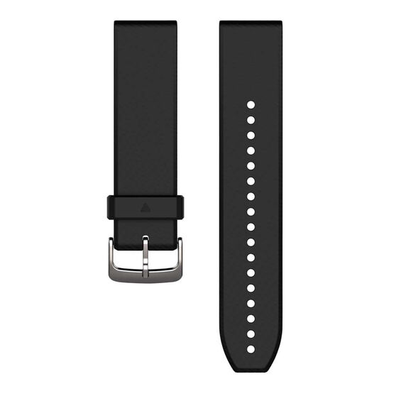 Garmin QuickFit 22mm Black / Silver Adjustable Watch Band, , rebel_hi-res