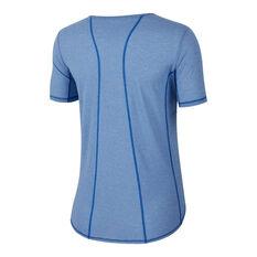 Nike Womens Running Tee Blue XS, Blue, rebel_hi-res