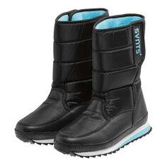 SVNT5 Womens Snowline Boots Black / Blue US 6, Black / Blue, rebel_hi-res