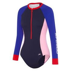 Speedo Womens Endurance Plus Paddle Suit, Print, rebel_hi-res