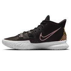 Nike Kyrie 7 Basketball Shoes Black US 7, Black, rebel_hi-res