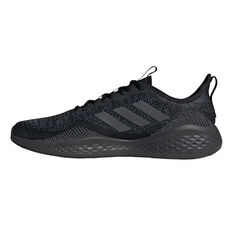 adidas Fluidflow Mens Casual Shoes Black/Grey US 7, Black/Grey, rebel_hi-res