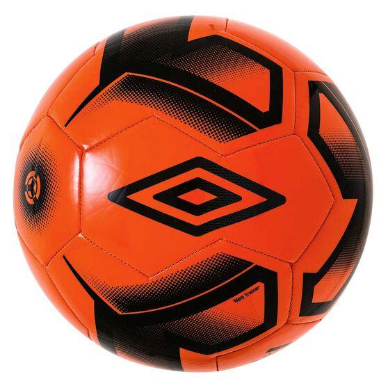 Umbro Neo Team Trainer Soccer Ball Orange / Black 5, , rebel_hi-res