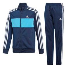 adidas Boys Tiberio Tracksuit Navy / Blue 10, Navy / Blue, rebel_hi-res