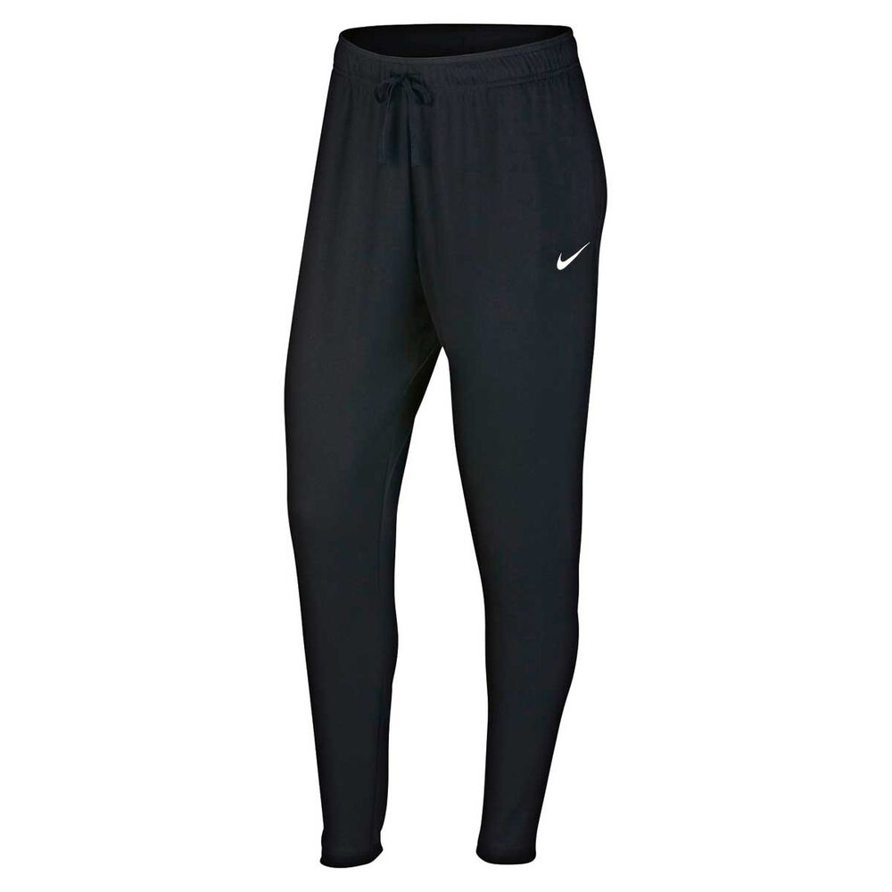 Nike Womens Flow Victory Training Pants Black   White L Adult ... 370fe89ad