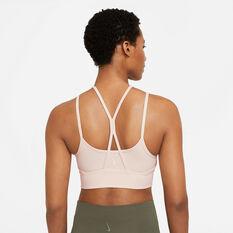 Nike Womens Yoga Dri-FIT Indy Light-Support Sports Bra Pearl XS, Pearl, rebel_hi-res