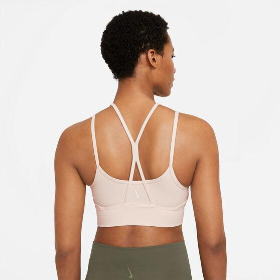 Nike Womens Yoga Dri-FIT Indy Light-Support Sports Bra Pearl M, Pearl, rebel_hi-res
