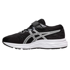 Asics GEL Excite 7 Kids Running Shoes Black / White US 11, Black / White, rebel_hi-res