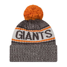 GWS Giants New Era 6 Dart Cuff Beanie, , rebel_hi-res