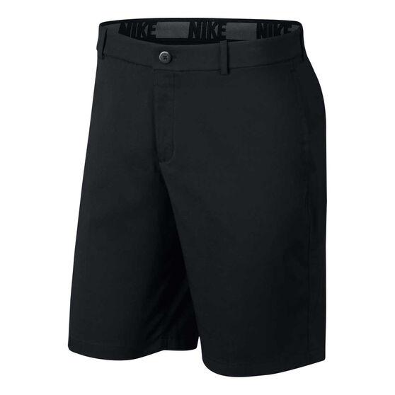 Nike Mens Flex Core Golf Shorts, Black, rebel_hi-res