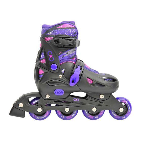 Goldcross GXC165 2 in 1 Inline Skates Purple 12-2, Purple, rebel_hi-res