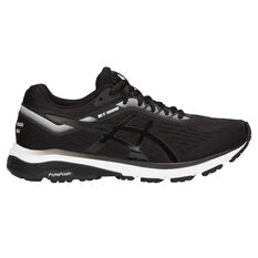 Asics GT 1000 7 Womens Running Shoes Black US 6, Black, rebel_hi-res