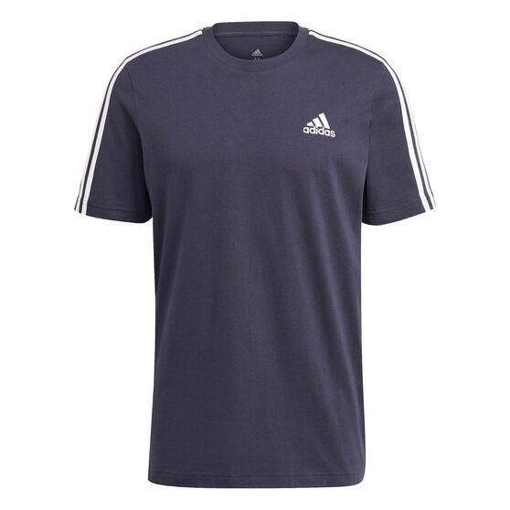 adidas Mens Essentials 3-Stripes Tee, , rebel_hi-res
