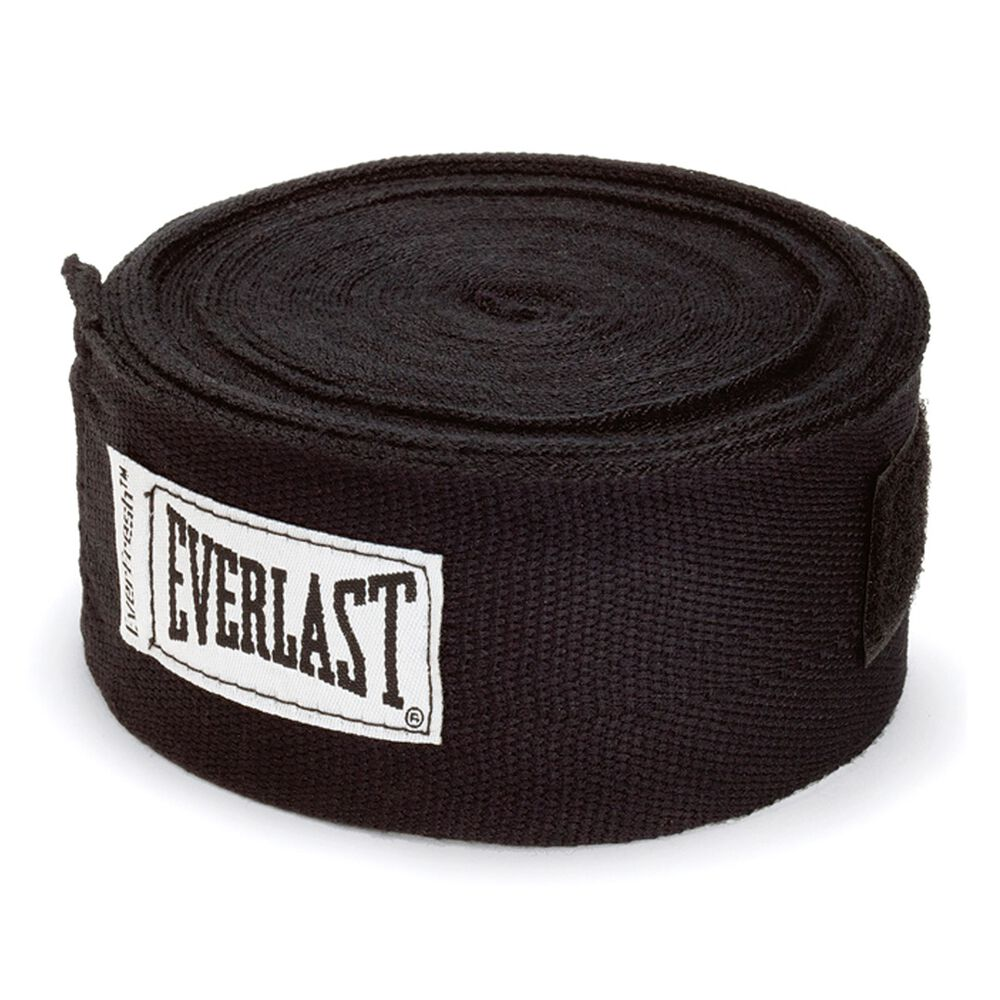 Everlast 180in Hand Wraps Black 180in