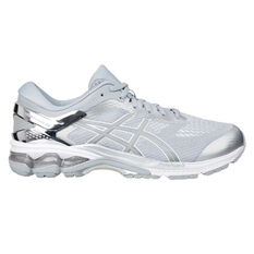 Asics GEL Kayano 26 Mens Running Shoes Grey / Silver US 7, Grey / Silver, rebel_hi-res