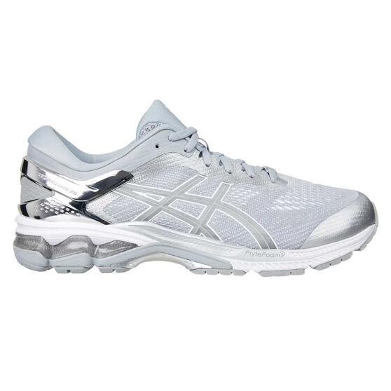Asics GEL Kayano 26 Mens Running Shoes, Grey / Silver, rebel_hi-res