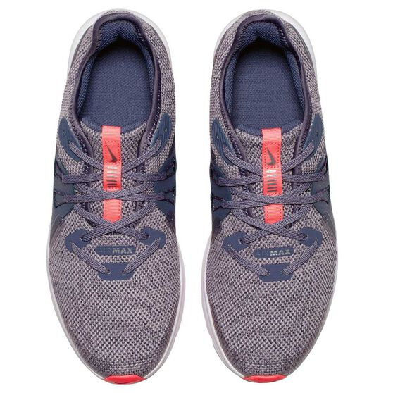 Nike Air Max Sequent 3 Girls Running Shoes Carbon / Grey US 7, Carbon / Grey, rebel_hi-res