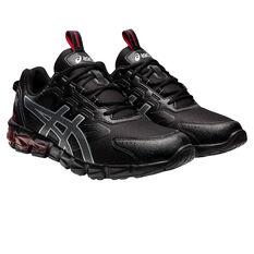 Asics GEL Quantum 90 Mens Casual Shoes, Black/Red, rebel_hi-res