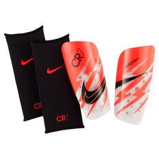Nike Mercurial Lite CR7 Shin Guards Red XS, Red, rebel_hi-res