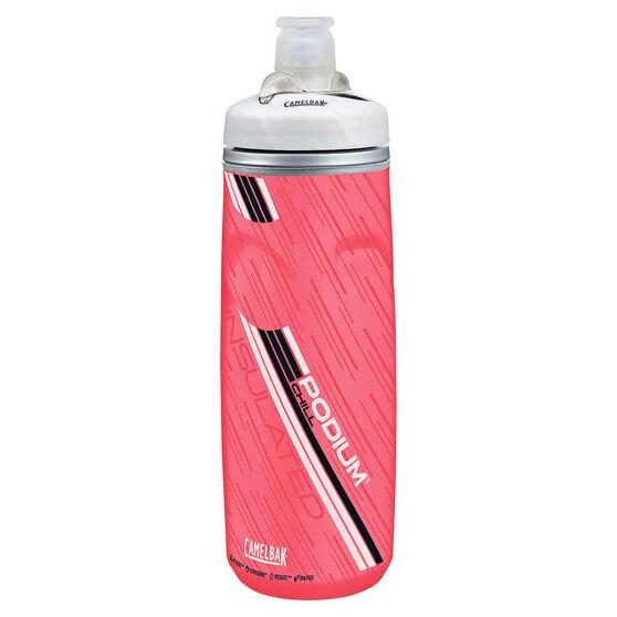 Camelbak Podium Chill 600ml Water Bottle Pink 600mL, Pink, rebel_hi-res