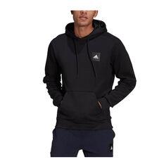 adidas Sportswear Mens Stadium Pullover Hoodie Black XS, Black, rebel_hi-res