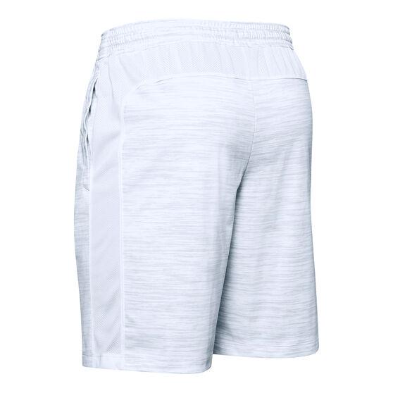 Under Armour Mens MK-1 Twist Shorts, Grey, rebel_hi-res