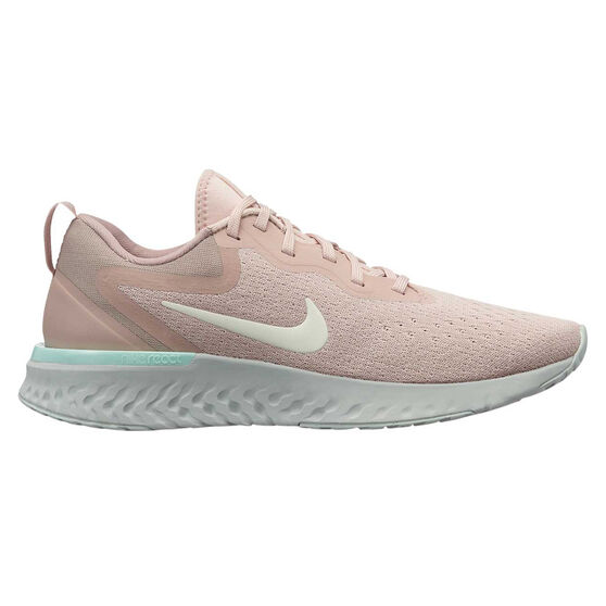 Nike Odyssey React Womens Running Shoes Pink / Silver US 6.5, Pink / Silver, rebel_hi-res