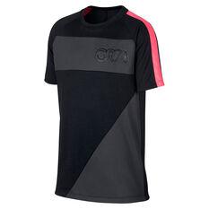 Nike Boys Dri-Fit CR7 Tee Black / Grey XS, Black / Grey, rebel_hi-res