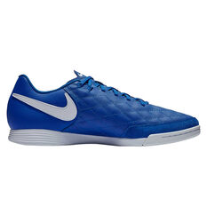 Nike Tiempo Legend 7 Academy 10R Indoor Soccer Shoes Blue / White US Mens 7 / Womens 8.5, Blue / White, rebel_hi-res