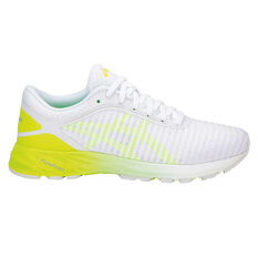 Asics Dynaflyte 2 Womens Running Shoes White / Yellow US 6, White / Yellow, rebel_hi-res